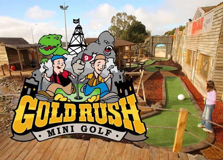 Gold Rush Mini Golf