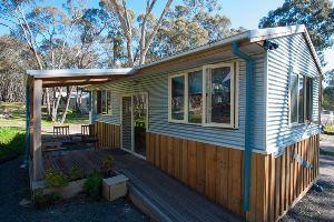 Australiana cabin with verandah