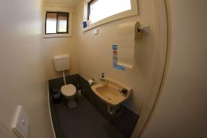 Log Cabin toilet facilities